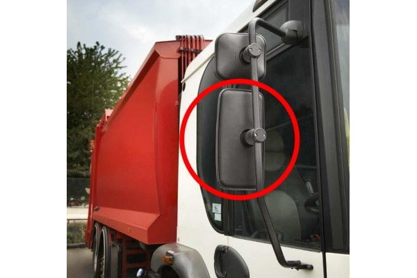 Rectangular Wide Angle Hgv Side Mirror Large