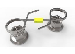 Checklock SQ Stainless Steel Wheel Nut Retainer