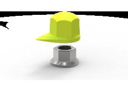 Dustite Wheel Nut Indicator and Dust Cap