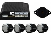 16mm 4 Head Rear Parking Sensor Kit