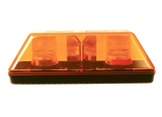 LAP XHPL012 High Power Mini Xenon Single Bolt Amber Lightbar