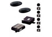 Steelmate Front and Rear 8 Parking Sensor Kit - Gloss Black