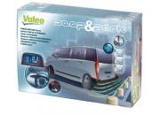 Valeo Beep & Park Kit 6 with 4 x Rear Parking Sensors & Display (Long Vehicle)