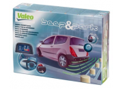 Valeo Beep & Park Kit 3 with 4 x Rear Parking Sensors & Display (Towbar Compatible)