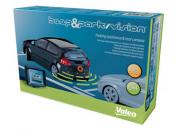 Valeo Beep & Park Vision - 4 x Rear Parking Sensors with LCD Monitor & Reversing Camera